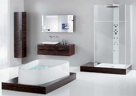hoesch singlebath bathroom suite thumb Hoesch SingleBath bathroom suite   Mirror TV Cabinet   mans dream bathroom?
