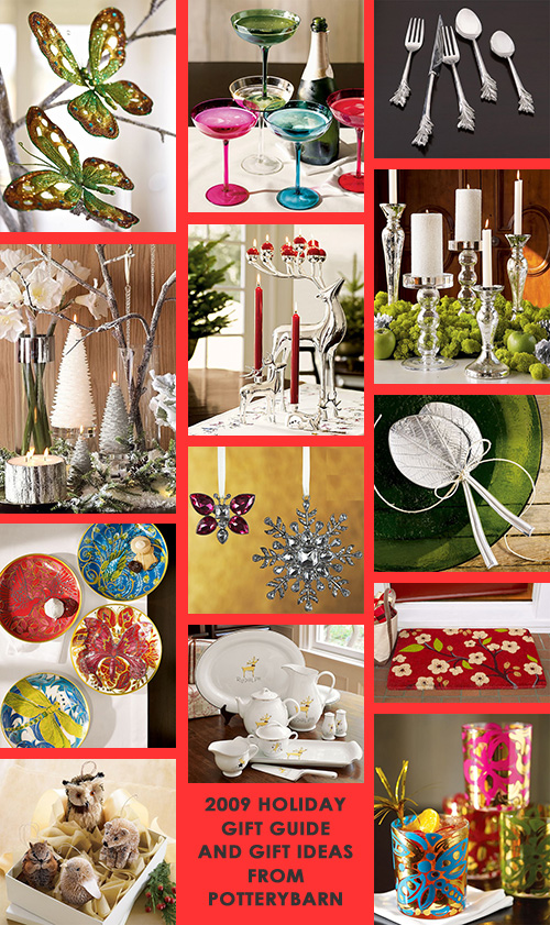holiday gift guide and gift ideas from potterybarn