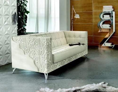 hollywood style sofa rebecca bizzotto 1 Hollywood Style Sofa Rebecca by Bizzotto   star quality