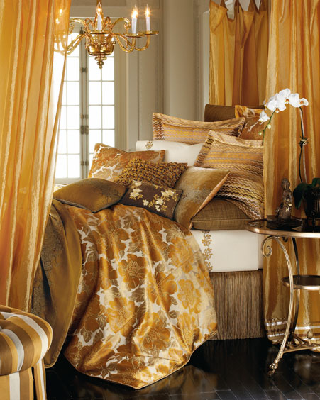 horchow chloe bed linens Luxury Bed Linens from Horchow   Chloe bedding by Dransfield & Ross