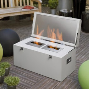 Hot Fireplace Design Ideas – chest mobile fireplace by Atria