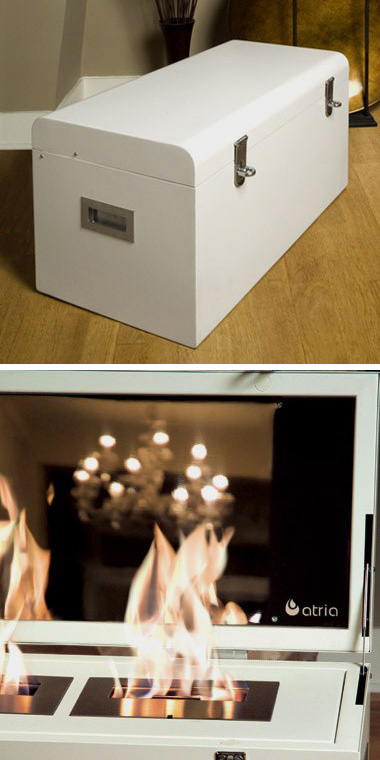 hot fireplace design ideas chest atria 2 Hot Fireplace Design Ideas – chest mobile fireplace by Atria