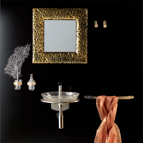 house design bathroom gold mirror House Design Bathroom Decor – important elegant details