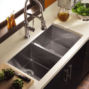 Zero Radius Sink from Houzer – the Contempo sink series