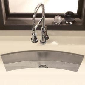 Houzer Zero Radius Undermount Trough Bar / Prep Sink