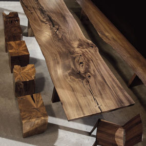 Modern Solid Wood Furniture from Hudson Furniture, in Claro Walnut