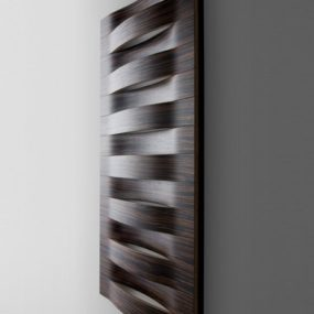 Modern Radiator from I-radium – wood radiators!