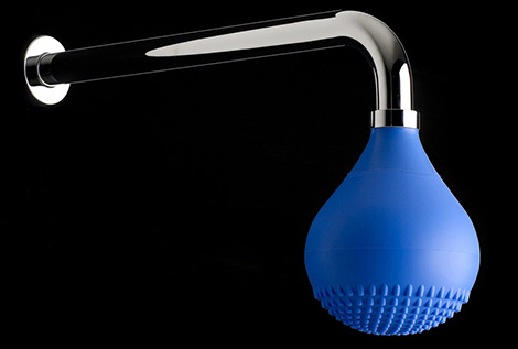 ibrubinetterie shower drop Colored Faucet and Shower from iB Rubinetterie   Batlo and Drop