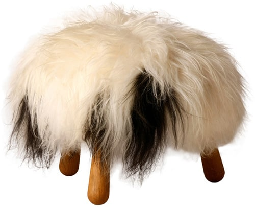 icelandic furniture design lop furniture 1 Icelandic Furniture in Sheepskin by Lop Furniture