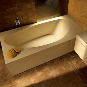 Solid Stone Bathtub from I Conci – Gagne