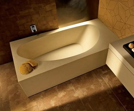 Solid Stone Bathtub from I Conci – Gagne