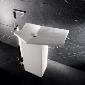 Free Standing Sink – Fold marble sinks from I Conci
