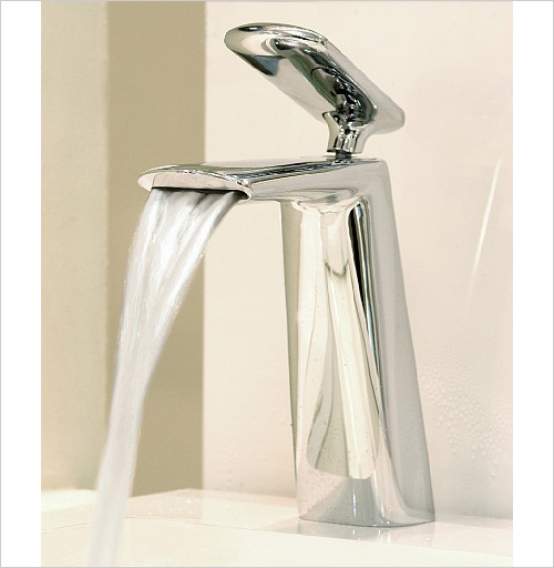 iconic faucet designs fir italia dynamica cascade 10 Iconic Faucet Designs by Fir Italia   new Dynamica