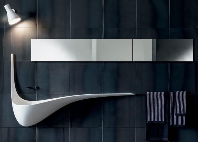Iconic wing washbasin design by falper