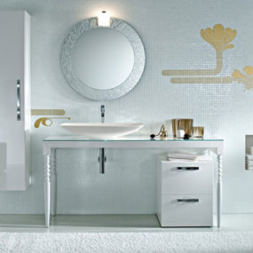 Deko bathroom vanities by Idea Group add luxury to your bathroom