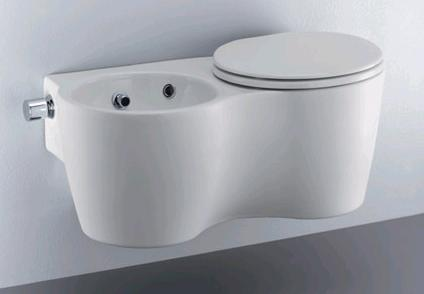 Ideal Standard Toilet : Ideal standard small bidet and toilet in one