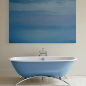 The Blue Bath from Ideal Standard – a freestanding bath