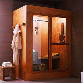 Ideal Standard Tris shower cabin – shower, sauna and steam room in one cabin