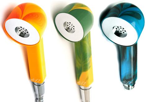 ili d color showers handheld Color Showers   new eco friendly shower Capri from ili D