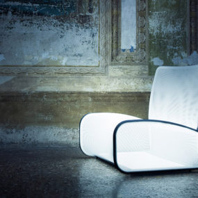 Illuminated Armchair Nuvola (cloud) by Natevo