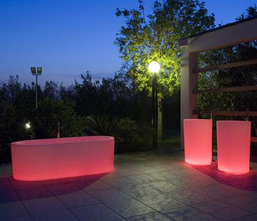 illuminated bathtubs antonio lupi oio 2 Illuminated Bathtubs by Antonio Lupi   OIO