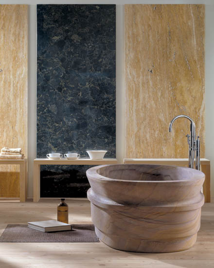 Natural Stone Bathroom from IL Marmo - Fusion luxury bathroom ...