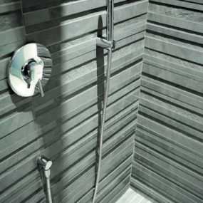 Modern Tiles from Impronta – Porfido and Vibrazioni relief tile designs