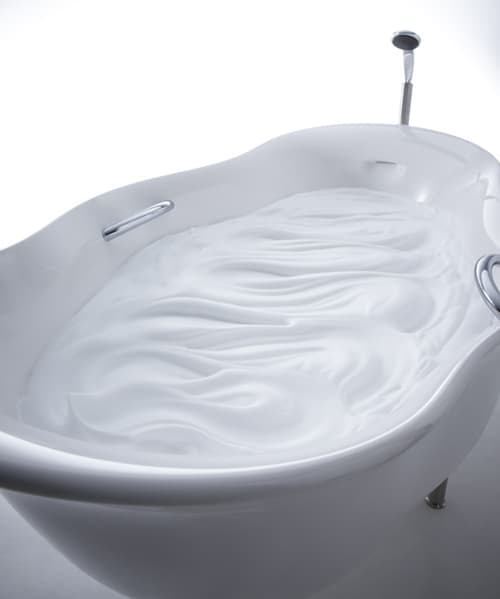 inax bathtub furo 4 Unusual Bathtub with Foamy Water