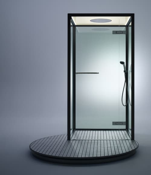 inax shower booth 2 Shower Booth by Inax   modern minimalist