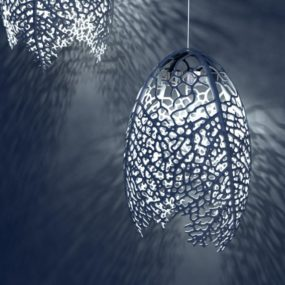 Incredible Organic Leaf Hyphae Lights by Nervous System