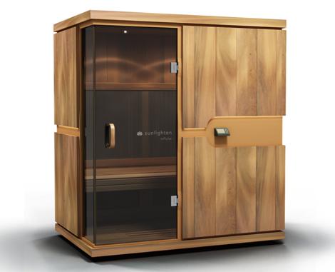 infrared saunas sunlighten mpulse 1 Infrared Saunas by Sunlighten wirelessly measure heart rate and calories burned!