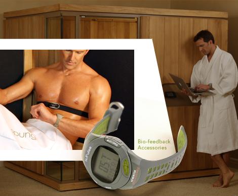 infrared saunas sunlighten mpulse 2 Infrared Saunas by Sunlighten wirelessly measure heart rate and calories burned!