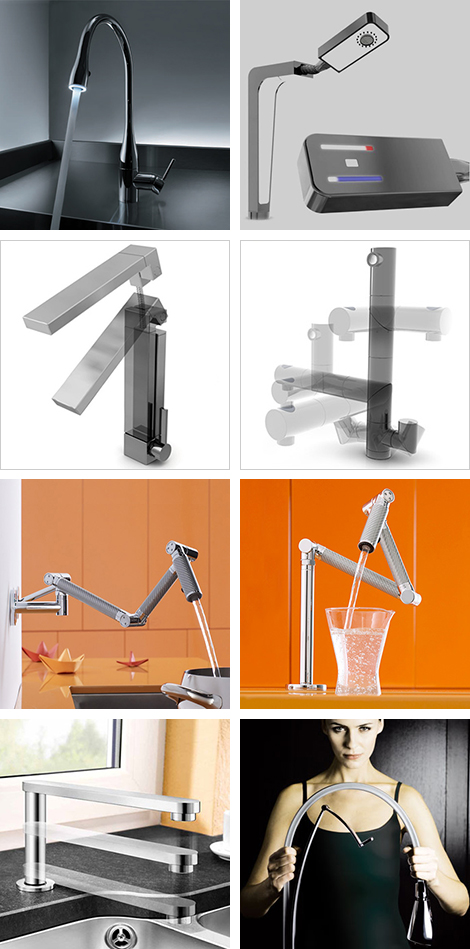 innovative kitchen faucets Kitchen Faucets   7 Most Innovative Faucet Designs for 2009