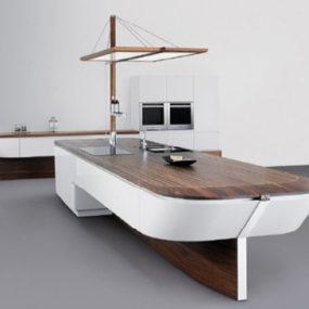 Innovative Kitchens – maritime style kitchen Marecucina by Alno