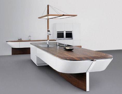 Innovative Kitchens Maritime Style Kitchen Marecucina By Alno