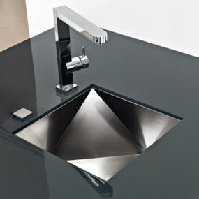 Innovative Sinks by Franke – new Polyedra 3d artistic sink design