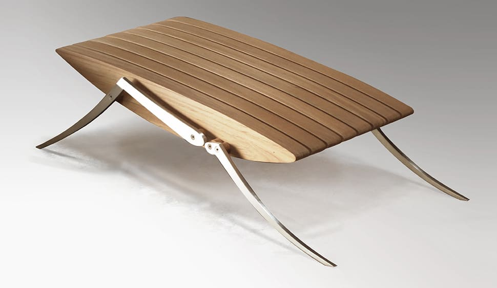 Insect Inspired Teak Outdoor Furniture from Deesawat