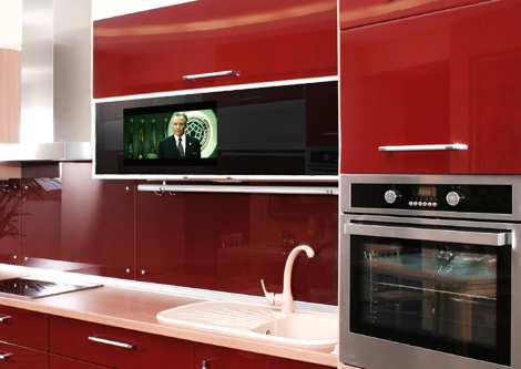 Integrated Cabinet Door Tv By Luxurite