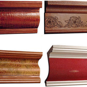 Leather Moldings from Interior Leather Surfaces