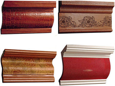 interior leather surfaces leather moldings Leather Moldings from Interior Leather Surfaces