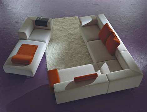 inventmillcentsofa 2 Modular Sofa from Inventa Italy   Mille&Cento contemporary sofa
