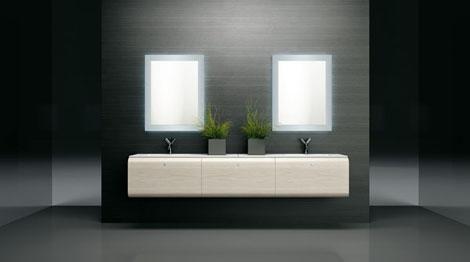 isa bagno loft vanity 2 Minimalist Chic Loft Vanities from ISA Bagno
