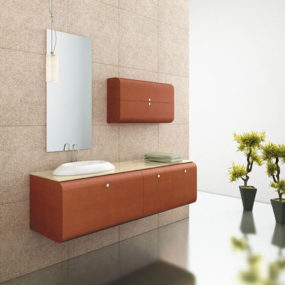 Minimalist Chic Loft Vanities from ISA Bagno