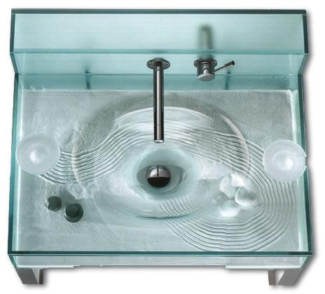 italbrass moody zen sink Open Kristallux Moody Aquarium Sink   Fish or Zen?