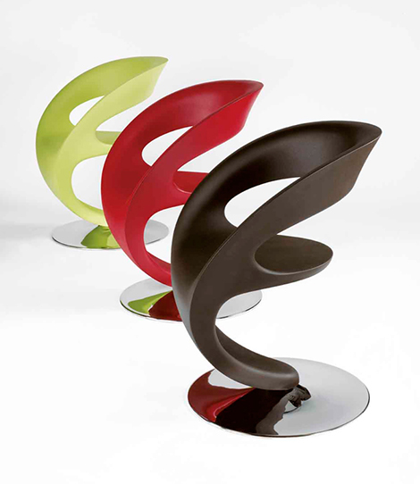 italian contemporary chairs pin up infiniti design 2 Italian Contemporary Chairs   Pin Up chair by Infiniti Design
