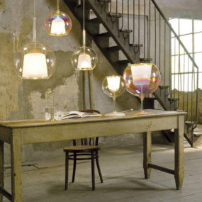 Italian Globe Pendant Lights from Penta: GLO