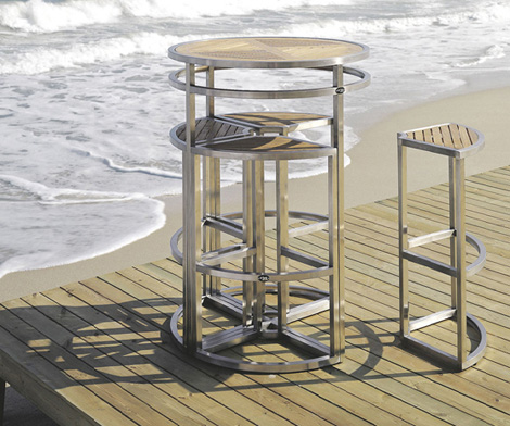 Modern Outdoor Furniture from Ivini - the versatile Las ...