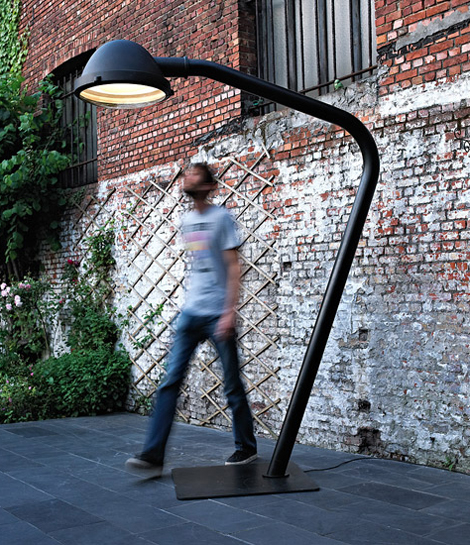 jacco maris lamp outsider 2 Industrial Style Lamps by Jacco Maris   awesome modern urban designs