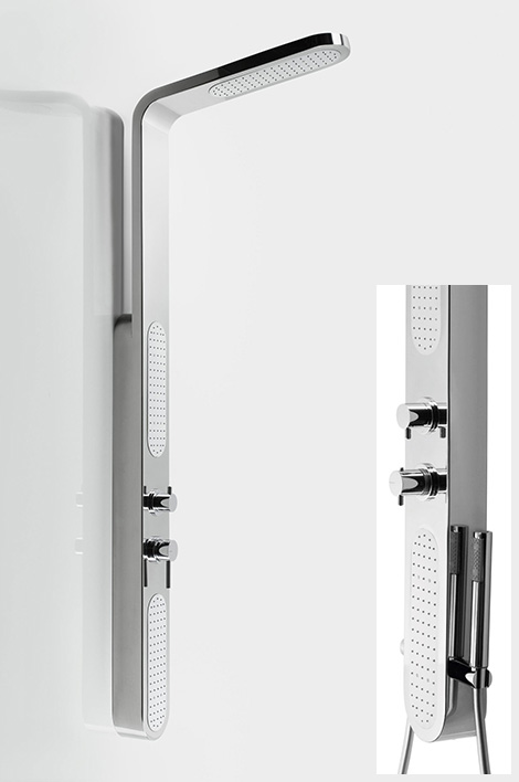 jaclo gosh shower column new modern bathroom fixtures from jaclo offer easy replacement options