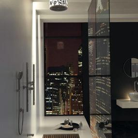 Jaclo Lumiere showerhead – Divine Damask defines modern vintage